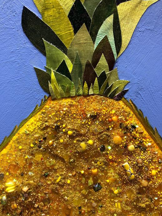 Pineapple Juice close up 2