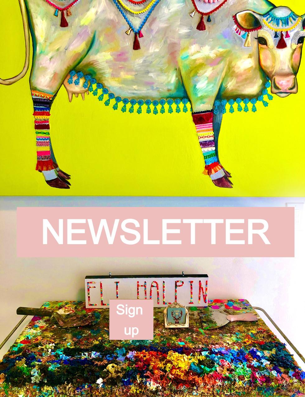 Eli Halpin's Newsletter Sign Up