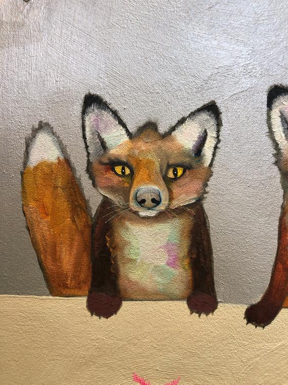 Fox Familia close up 9