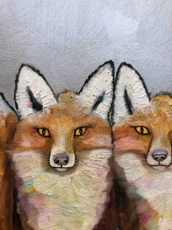 Fox Familia close up 1