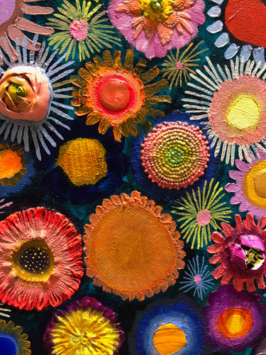 Flower Couture close up 4