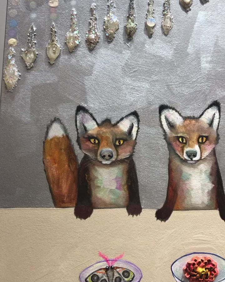 Fox Familia close up
