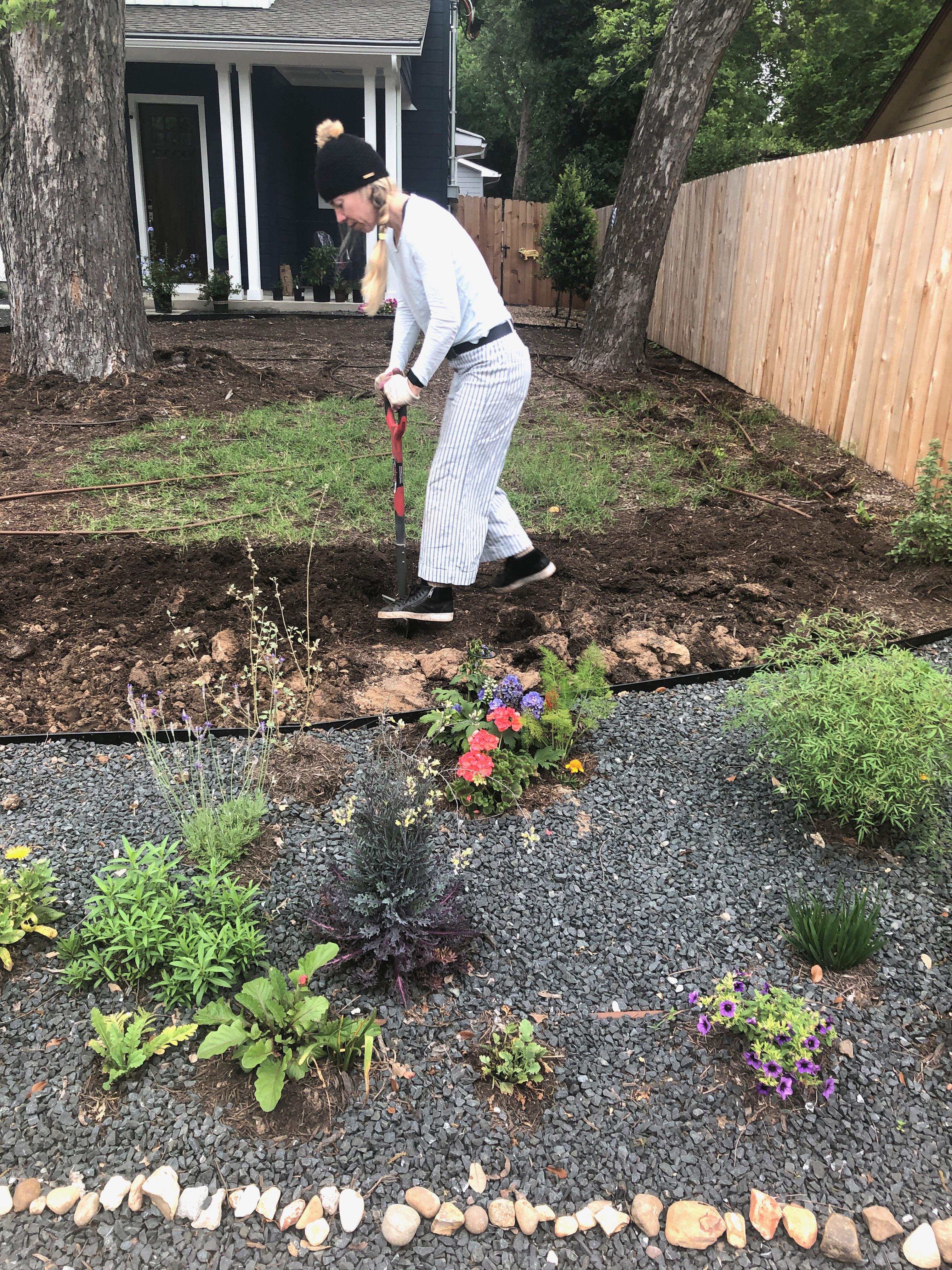 In the beginning of Eli's garden/