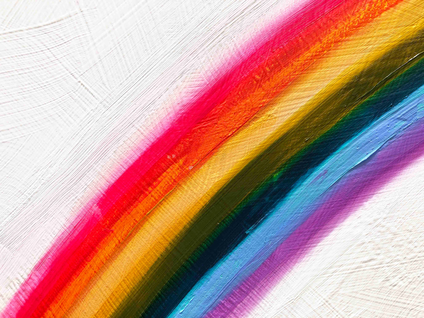 Rainbow Frequency close up 1