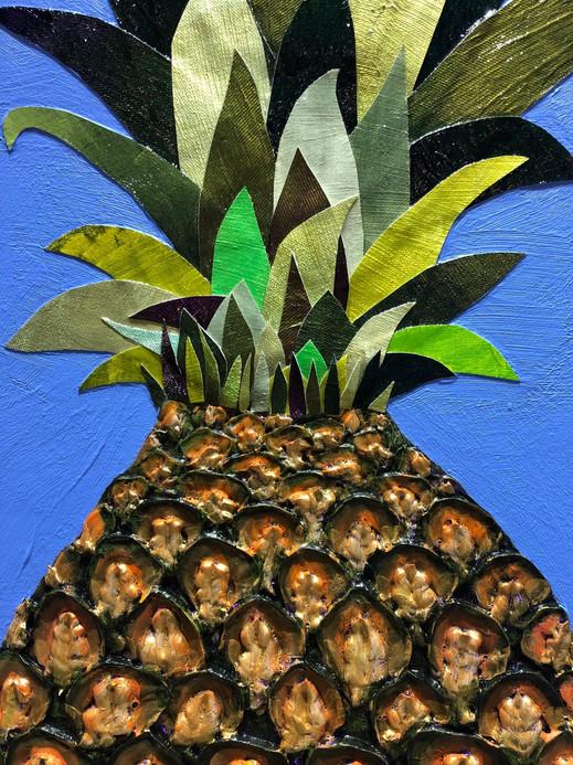 Pineapple Juice close up 1