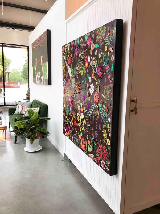 Fig Tree Garden hanging in gallery