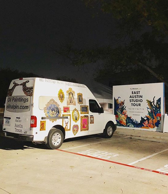 The East Austin Studio Tour Kick Off Par