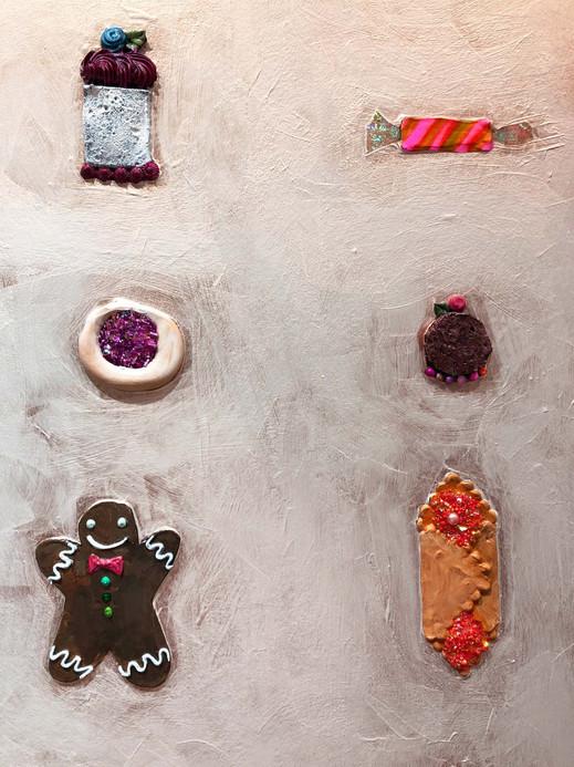 Cookies close up 3