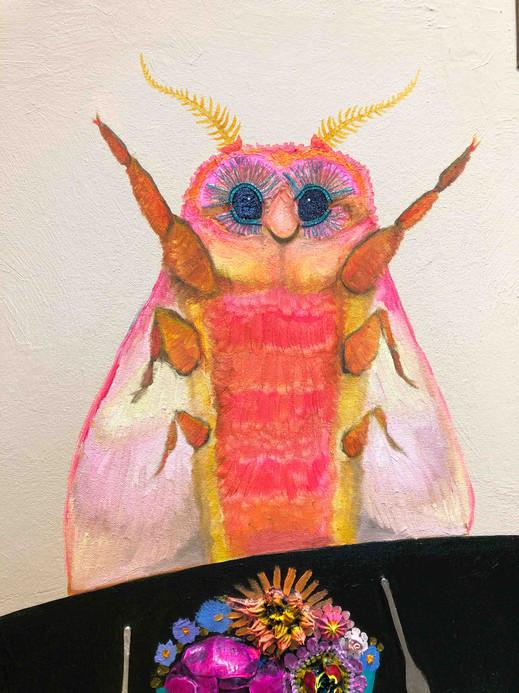 Caterpillar's House close up 3