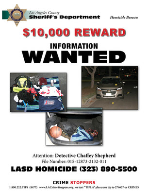 Reward Offered in Search for Murder Suspect - Willowbrook