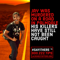 Do you know something that will help solve this murder? Do the right thing! Say it here!