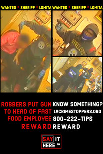 """""""DO YOU HAVE INFORMATION ABOUT THIS ROBBERY? DO THE RIGHT THING AND SAY IT HERE(tm)!"""""""