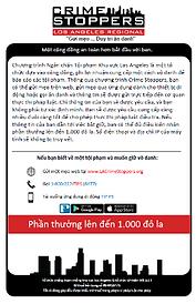 LA Crime Stoppers Vietnamese information