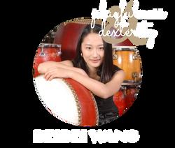 Beibei Wang - percussion