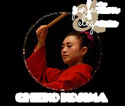 Chieko Kojima - taiko & dance