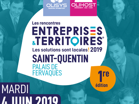 Retrouvez l'équipe TPE/PME #MaSolutionIT aux Rencontres  Entreprises & Territoires de Saint-Quentin