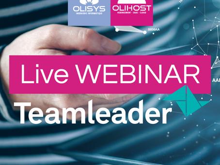 [ AGENDA ] Inscrivez-vous à notre prochain Live WEBINAR en partenariat avec Teamleader !