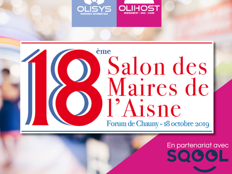 [ AGENDA ] Salon des Maires de l'Aisne | Chauny | 18 Octobre 2019