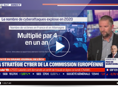 [ ACTUALITÉ CYBERSECURITÉ ] Guillaume Poupard (DG ANSSI) Le nombre de cyberattaques explose en 2020!