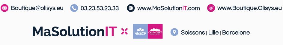 MaSolutionIT avec Olisys & olihost - L'informatique des Entreprises et professionnels - Hauts-de-France