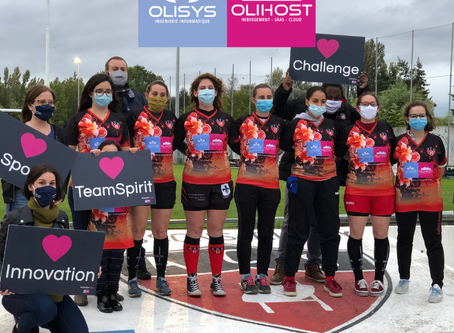 [ STRONG WOMEN ] MaSolutionIT, sponsor de l'équipe féminine de l'ACS, Rugby Club de Soissons
