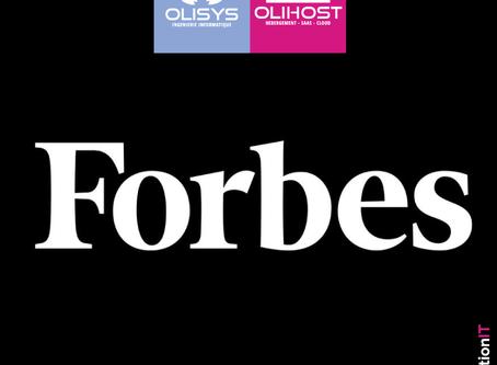 [ CLASSEMENT FORBES ] MaSolutionIT dans le top 100 des plus créatifs du monde des affaires