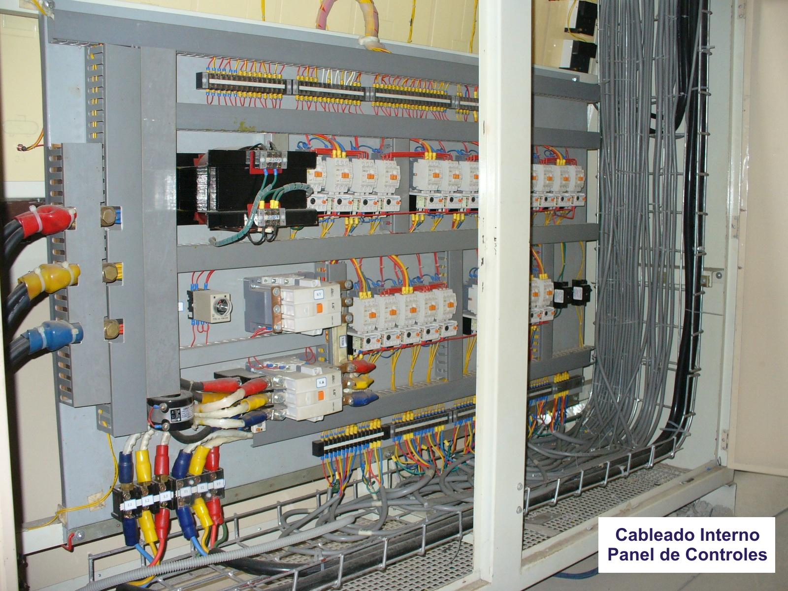 Cableado interno  panel de control