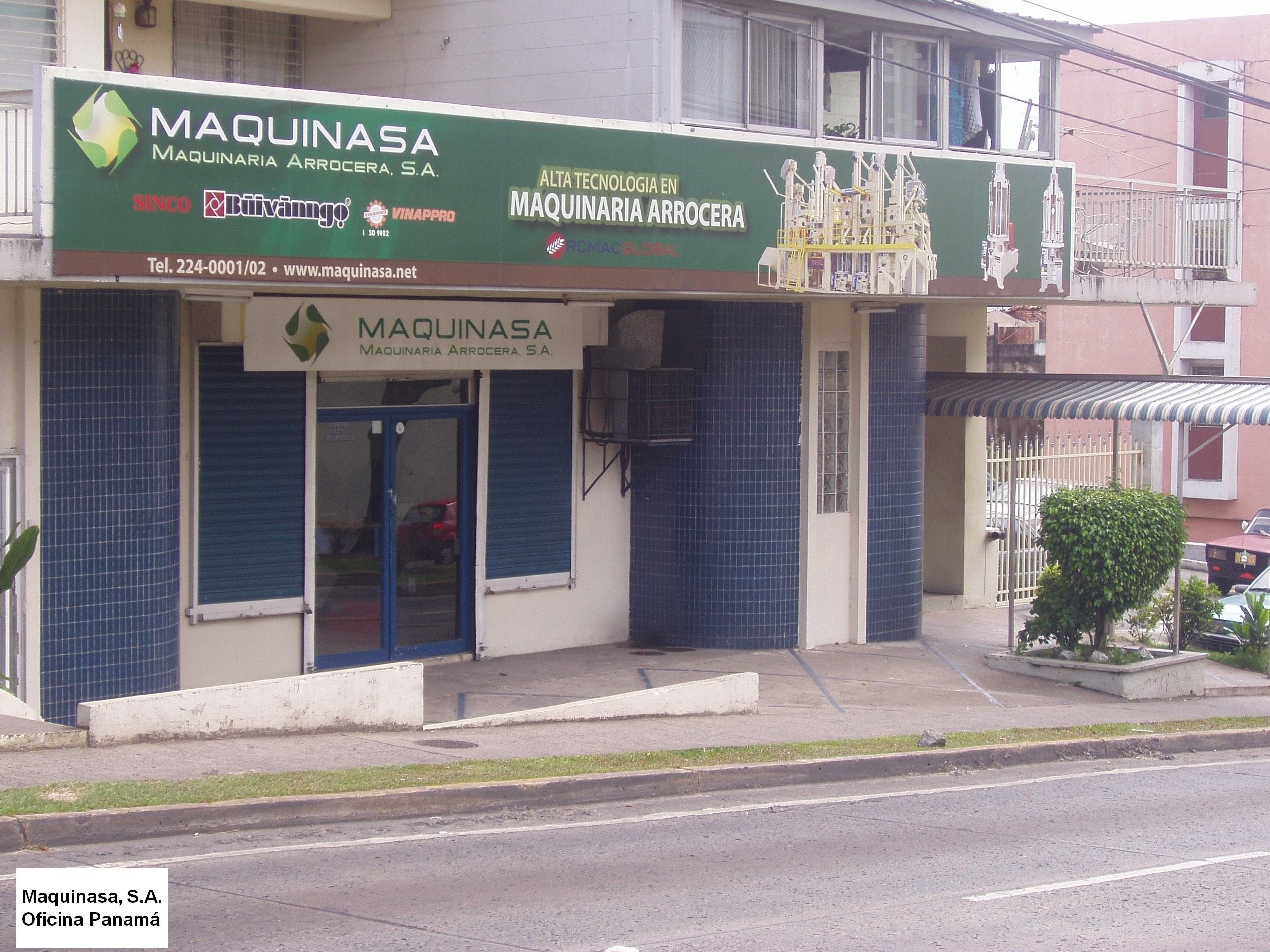 Fachada Oficina Panama
