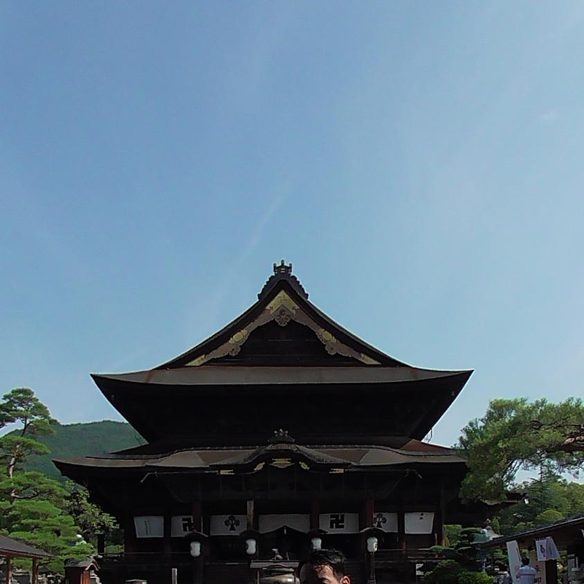 竹内睦泰と森の仲間たち<TFC>夏合宿・神州(信州)パワースポット巡り