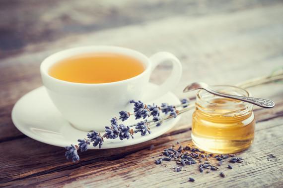 Lavender Chamomile Tea & Honey
