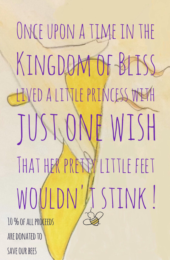 The Princess is saving bees !