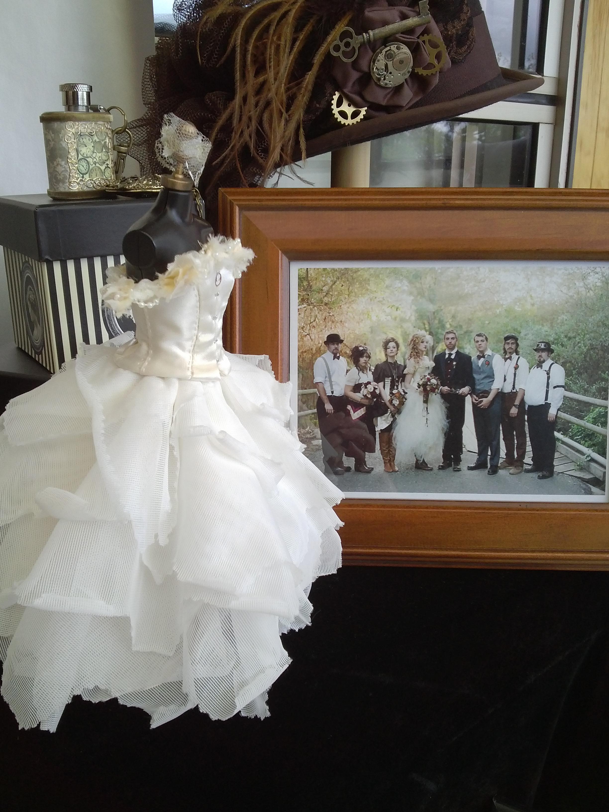 Steampunk Wedding Gown 2012