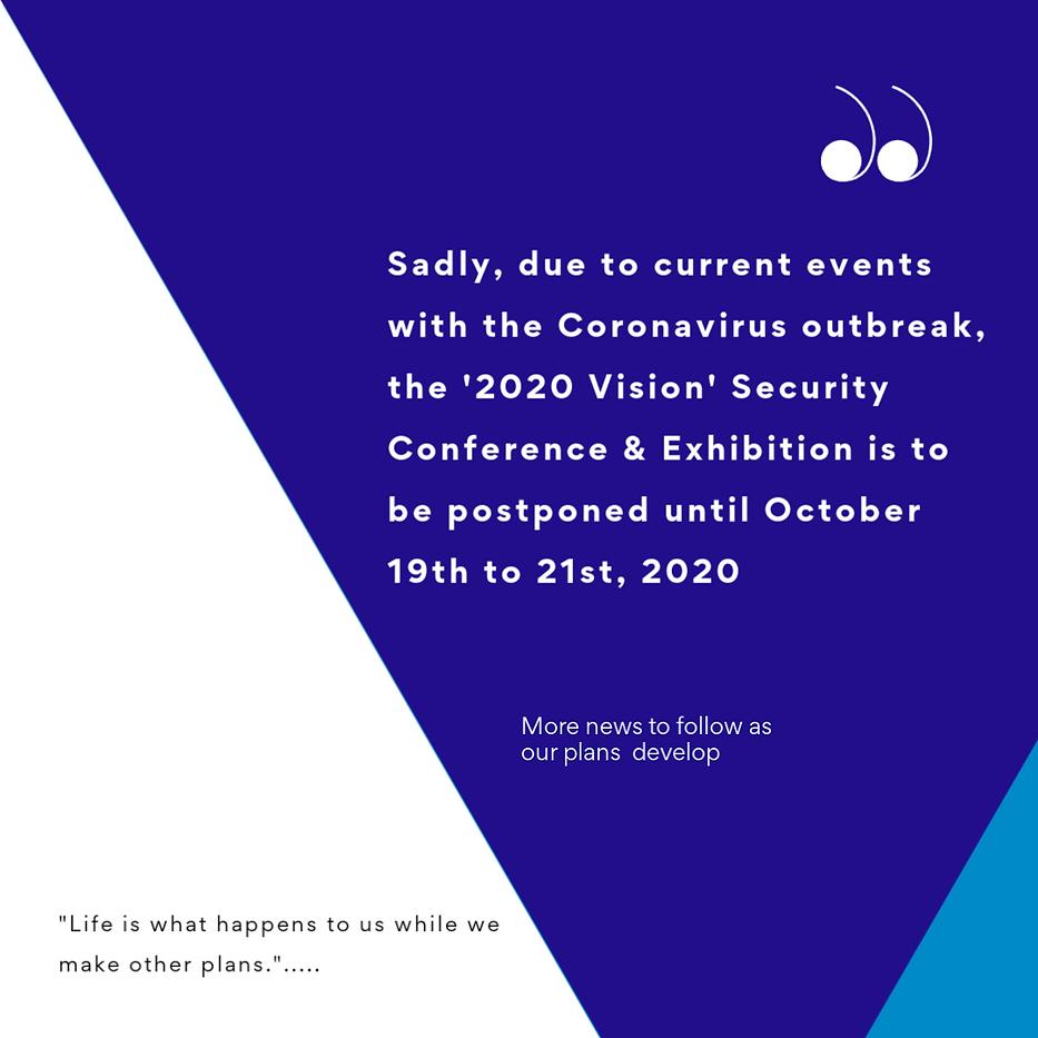 Postponed Conference background for webs
