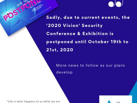 CCTV User Group Conference has been postponed until October 2020.