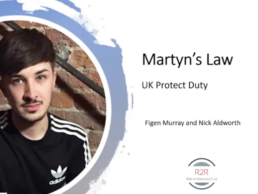Martyn's Law (Protect Duty) Webinar