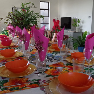 Orange Hibis