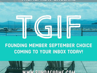Did You Get the August Founders Box? Share and Win! Also, September Choice Coming to Your Inbox Toda