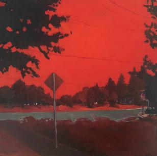 Scenes of the 2020 West Coast Wildfires; Salem from P's front door