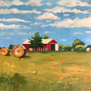 Scenes of Missouri during the 2020 pandemic: Hay bales