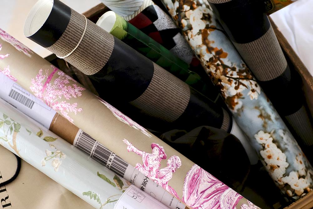 tissus et papiers peints