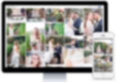 Online-Galerie, Hochzeitsfotos