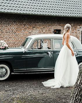 Hochzeitskutsche, Jaguar, Brautauto