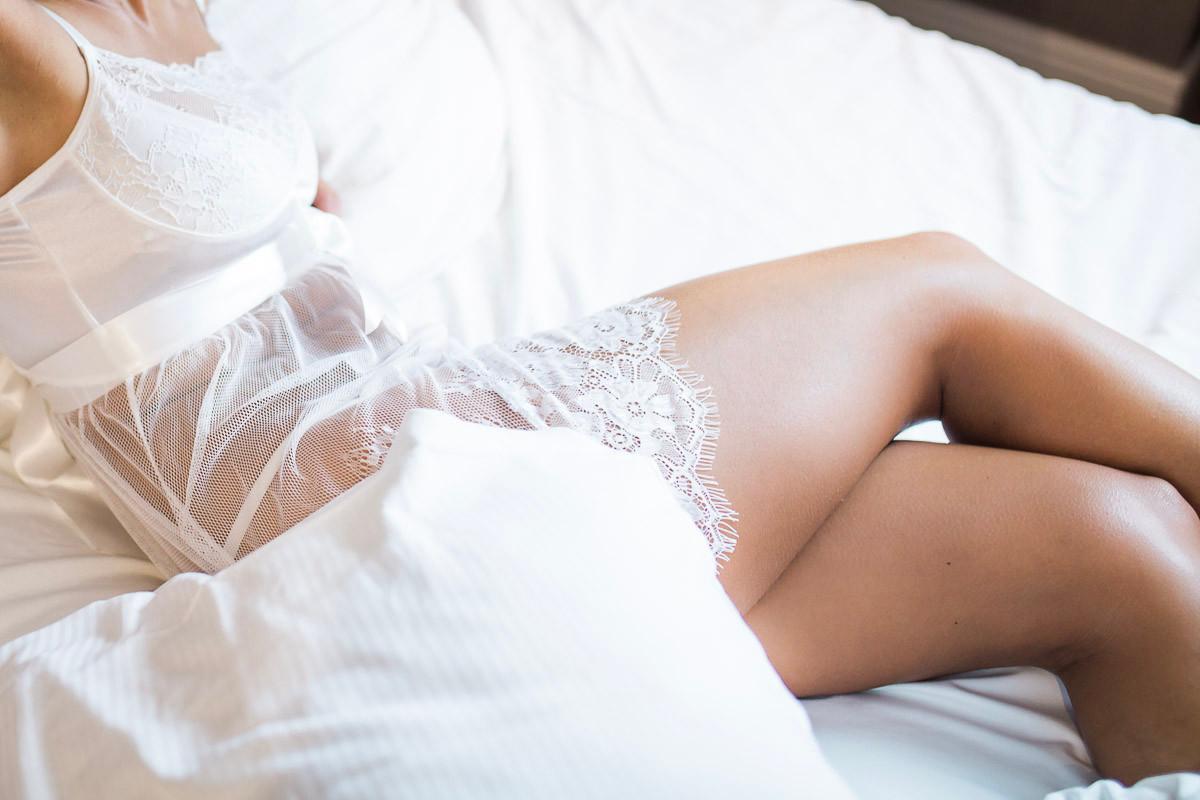 Unterwäsche, Fotoshooting