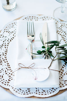Hochzeitstisch, Details, Herzlich[t] Bonn