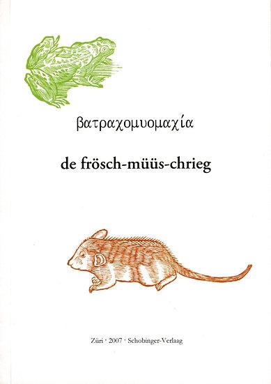 Viktor Schobinger - de frösch-müüs-chrieg