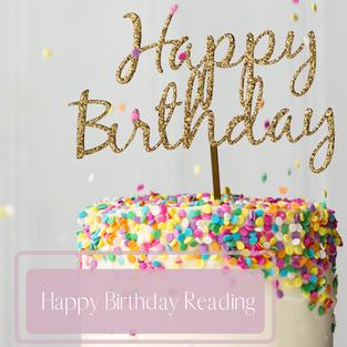 Happy Birthday Reading