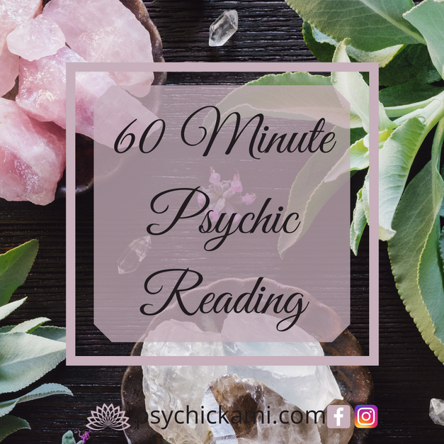 60 Minute Phone or Video Psychic Reading