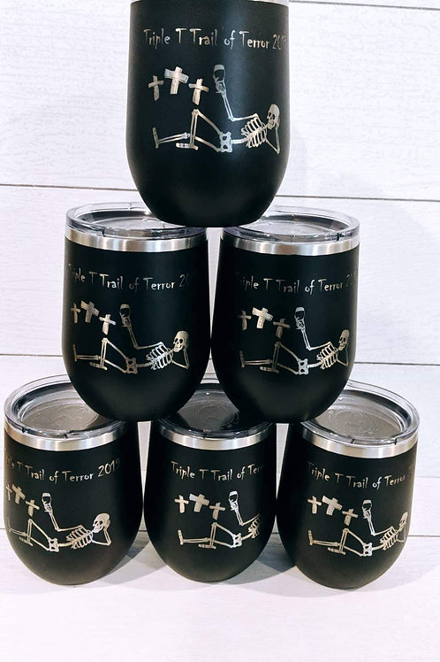 2019 Triple T Trail of Terror 5K Tumbler
