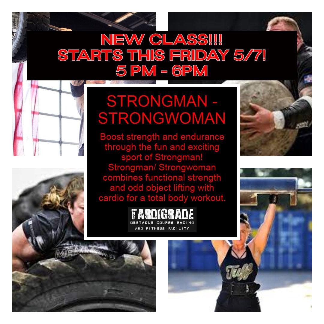 Strongman/Strongwoman