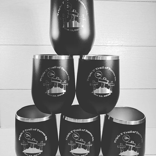 2018 Triple T Trail of Terror 5K Tumbler